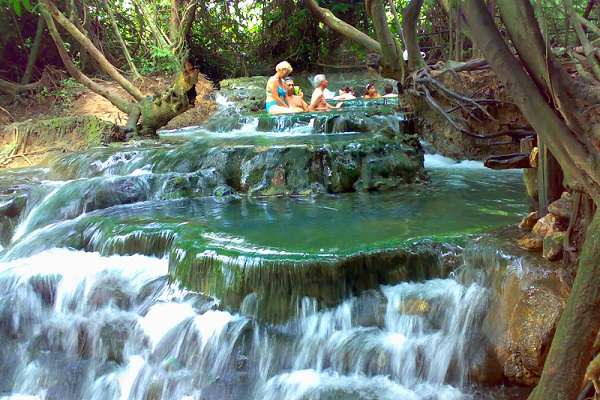 Natural Hot And Cold Springs In Krabi